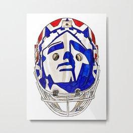 Richter - Mask Metal Print