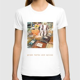 Greek Herbs and Spices T-shirt