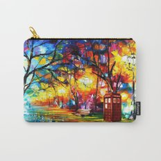 Tardis Dr Who Carry-All Pouch