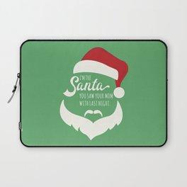 I saw mommy kissing Santa Clause Laptop Sleeve