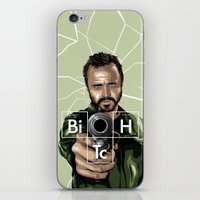 jesse pinkman iPhone & iPod Skins featuring Jesse Pinkman by Denis O'Sullivan