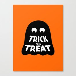Trick or Treat – Ghost Canvas Print