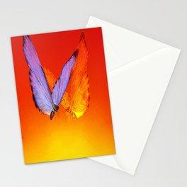 La rencontre des papillons de nuit Stationery Cards