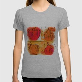Four Corners Of Apples And Pears T-shirt
