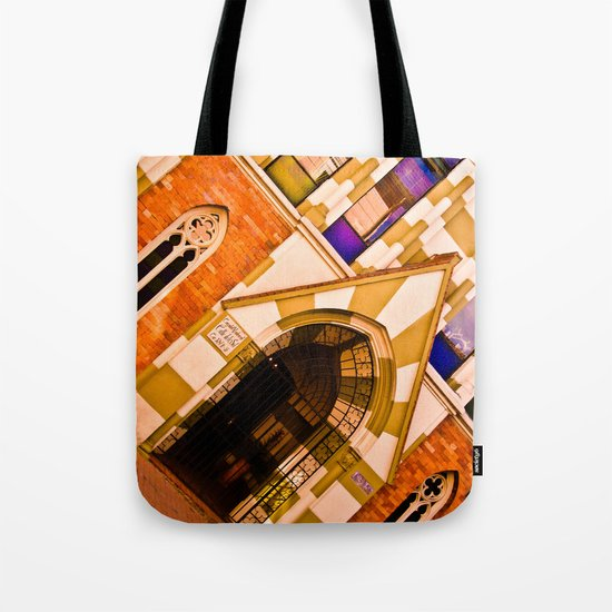 FRONT OF CHURCH Tote Bag