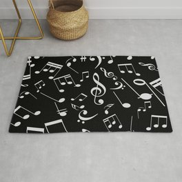 Musical Notes 20 Rug