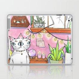 Gemini cat Laptop & iPad Skin