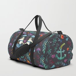 Mermaid Spring Duffle Bag
