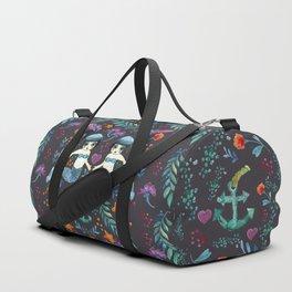 Mermaid Spring Duffle Bag