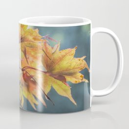 Yellow Acer Leaves Coffee Mug