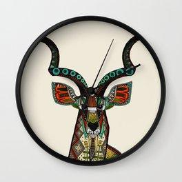 antelope ivory Wall Clock