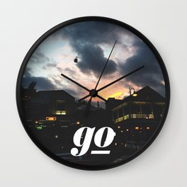 Go // #TravelSeries Wall Clock