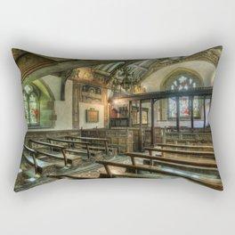 The Hidden Chapel Rectangular Pillow