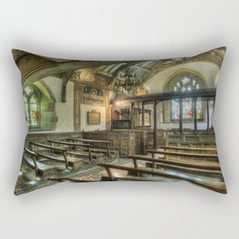 The Hidden Chapel Rectangular Pillow