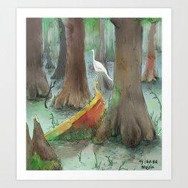 Vegitable Sea  Art Print