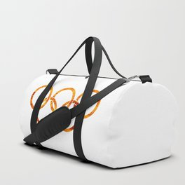 Flaming Olympic Rings Duffle Bag