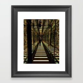 Walk Away Framed Art Print