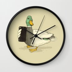 Duck Lips Wall Clock