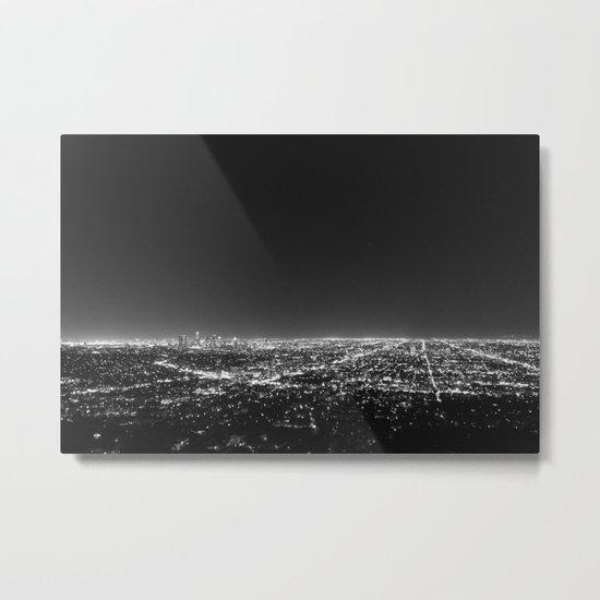 LA Lights Metal Print