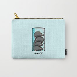 Moles Per Litre Cute Chemistry Science Joke Carry-All Pouch