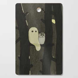 Little Ghost & Owl Cutting Board