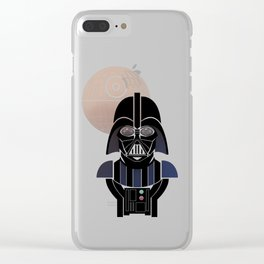 StarWars Darth Vader Clear iPhone Case
