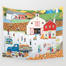 The Harvest Moon Wall Tapestry