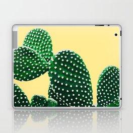 Prickly Plant ( yellow ) Laptop & iPad Skin