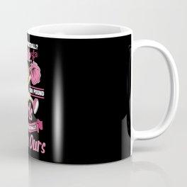 You play football? That's cute! Coffee Mug