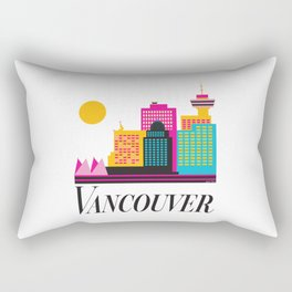 Vancouver Coal Harbour Rectangular Pillow