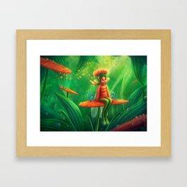 Pollenasia Framed Art Print