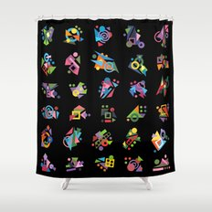 Seeds (Graines) Shower Curtain