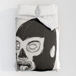 Black Luchador Comforters