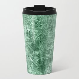 Grayed Jade Oil Painting Color Accent Travel Mug