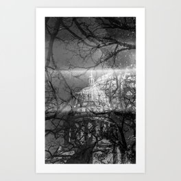 Madison State Capitol Art Print