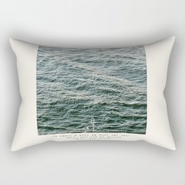 Set Sail (Franklin Delano Roosevelt Quote) Rectangular Pillow