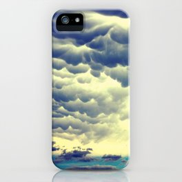 Mammatus Clouds II iPhone Case