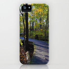Boardwalks of southern Ontario, CA iPhone Case