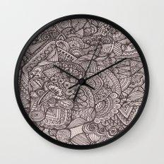 Doodle 8 Wall Clock