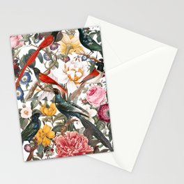 Floral and Birds XXXV Stationery Cards