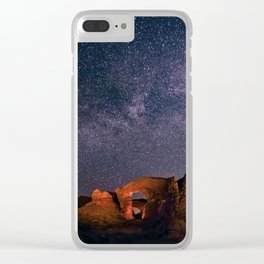 Arches National Park Panorama Clear iPhone Case