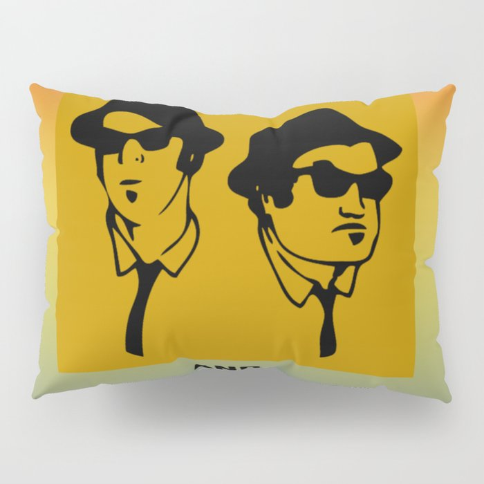 Mission From God Blues Brothers Pillow Sham