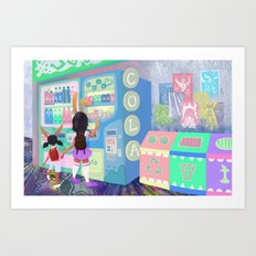 Pop Station Art Print