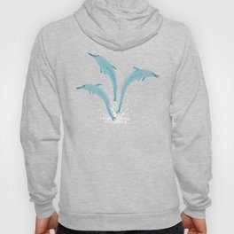 Jumping Dolphins Hoody