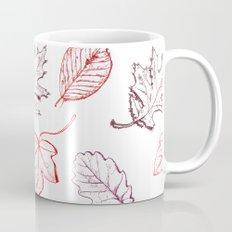 Leaves (reds) Coffee Mug