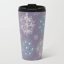 Lilac Clusters Travel Mug