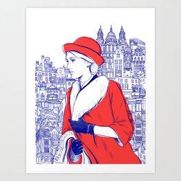 Clarissa Dalloway - Virginia Woolf Art Print