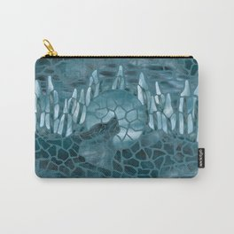 Moonlight Story (Teal) Carry-All Pouch