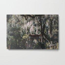 Bonaventure Cemetery, Savannah, Georgia Metal Print