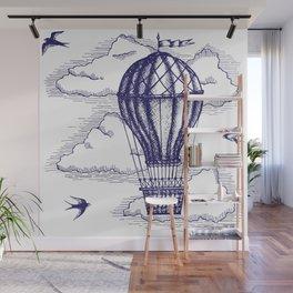 Hot Air Baloon Wall Mural
